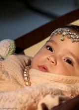Mariah Carey's Baby Poses with Diamond Tiara