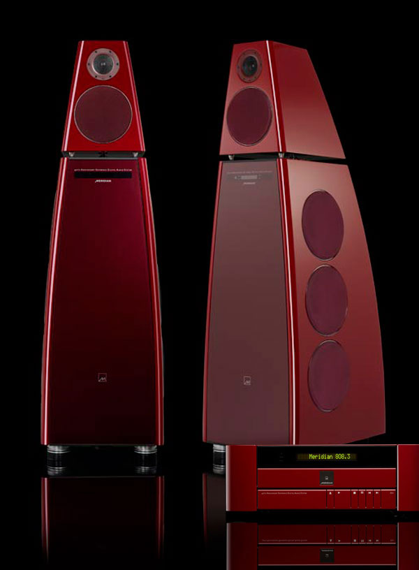 Meridian Audio 40th Anniversary Edition System