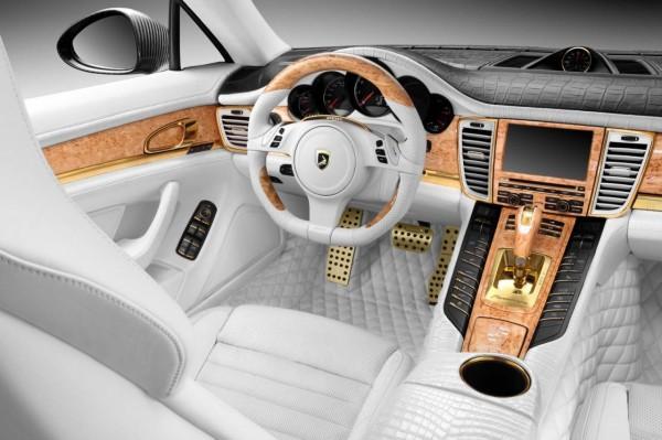 Moscow Kremlin Porsche Panamera Stingray GTR Crocodile