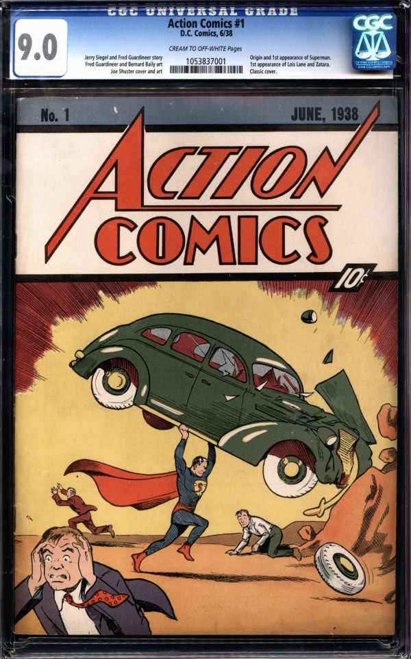 Is The Nicolas Cage Copy Of Action Comics #1 About To Become The First $2,000,000 Comic?