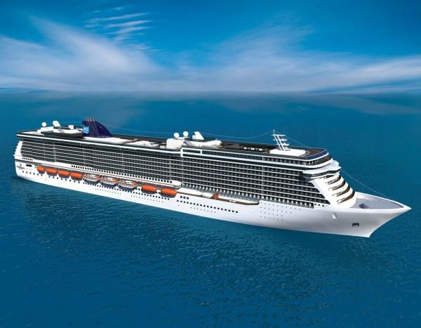 Norwegian Cruise Line's The Breakaway Ship