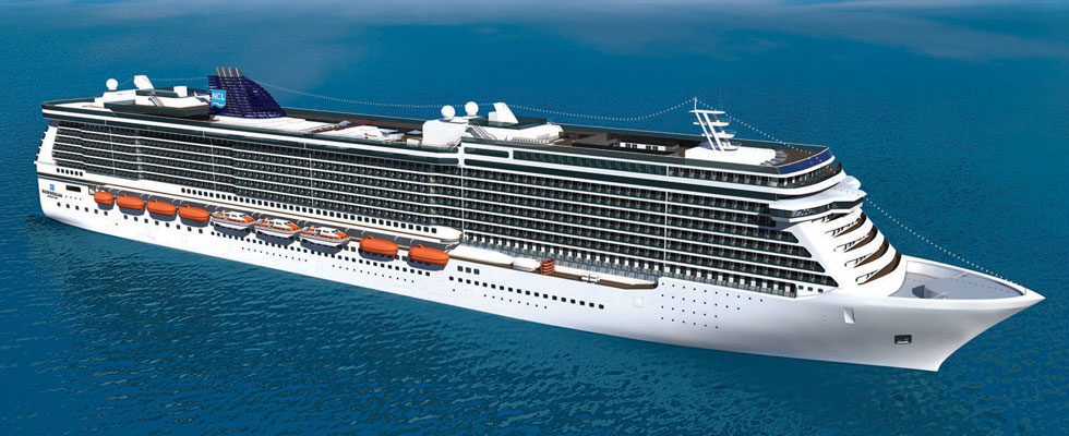 Norwegian Cruise Line's The Breakaway Ship