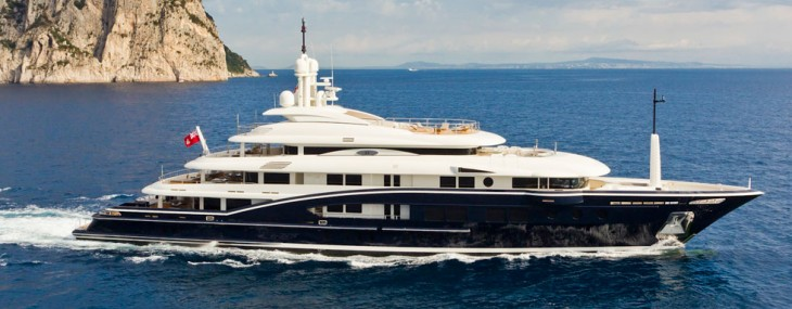Numptia Superyacht for Sale at about $85 Million