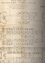 Original Titanic First Class Deck Plan Set to Fetch £50,000 at Auction