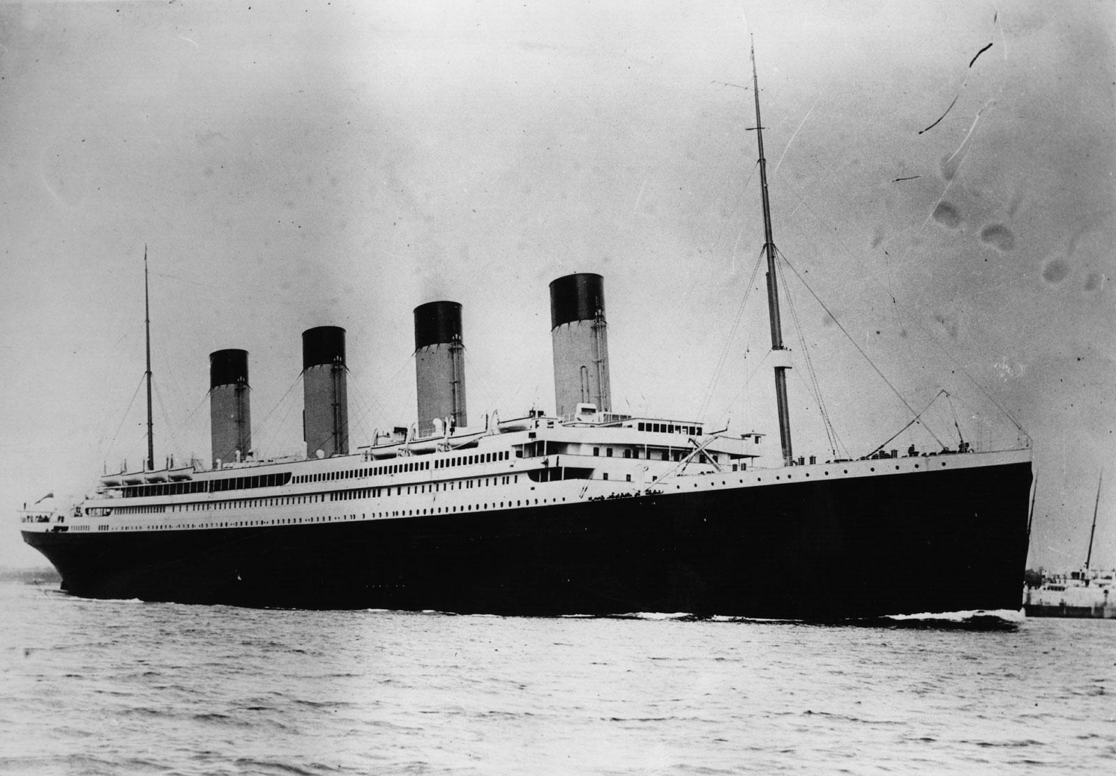 Original Titanic First Class Deck Plan Set to Fetch £50,000 at ...