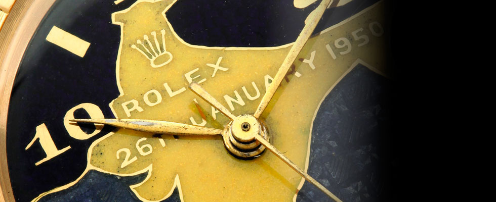 Rolex owned by India's first President
