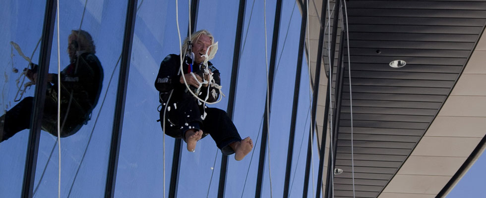 Sir Richard Branson Opened Spaceport America