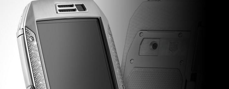 TAG Heuer Link Full Diamonds and White Lizard Smartphone