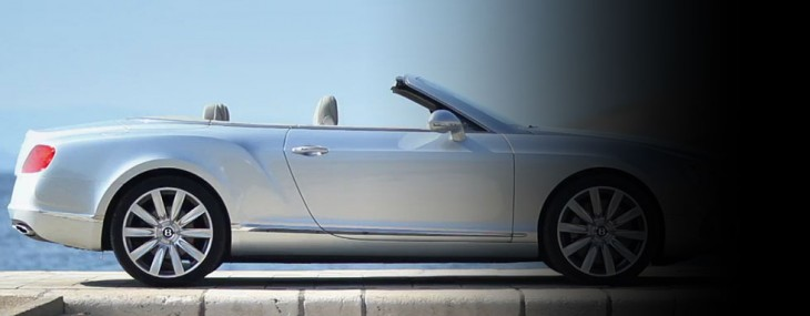 The New Bentley Continental GTC - First Official Driving Footage