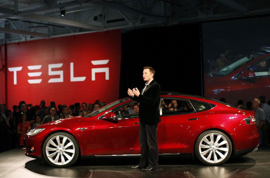 Worksheet. Tesla Model S Sedan Makes First Public Appearance  eXtravaganzi