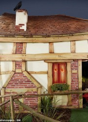 The bespoke £55,000 Wendy house