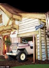 the bespoke £55,000 Wendy house