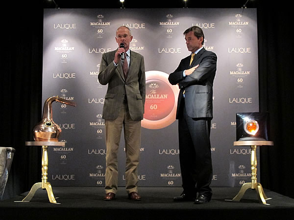 The Macallan and Lalique Curiously Small Stills Decanter