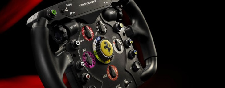 Thrustmaster Ferrari F1 Racing Wheel for Unique Racing Experience