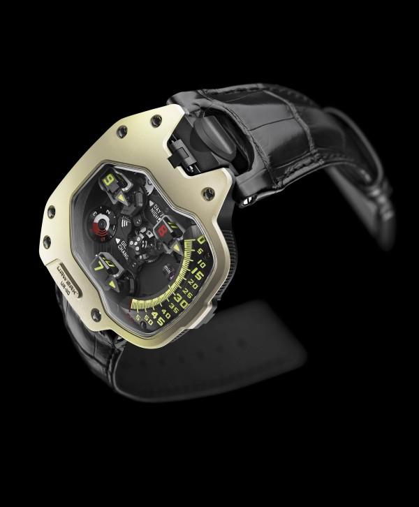 Limited Edition UR-110 ZrN Torpedo Watch From Urwerk