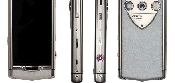 Vertu Constellation T – First Touchscreen Phone from Luxury Brand