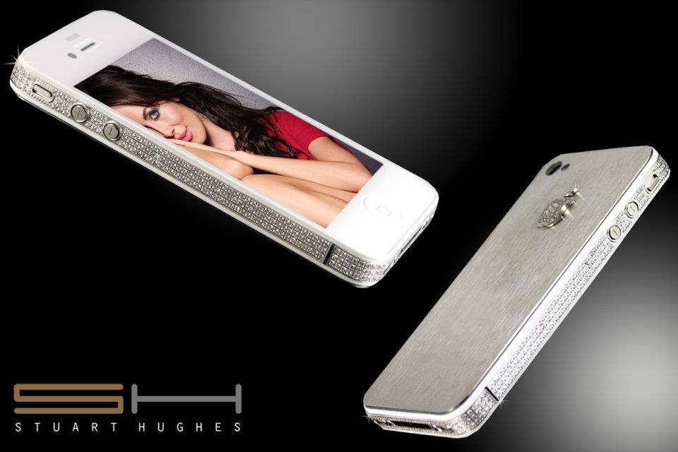 d45fc61a87970e iPhone 4S Diamond   Platinum Edition - eXtravaganzi