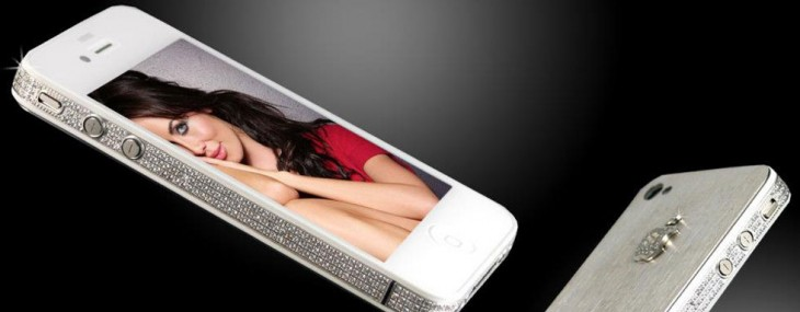 iPhone 4S Diamond & Platinum Edition by Stuart Hughes
