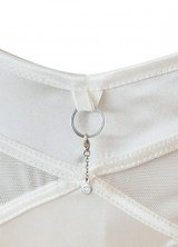 Knickers with diamond charm by Nichole de Carle