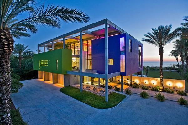 Architectural Award-winning Beach House in Florida