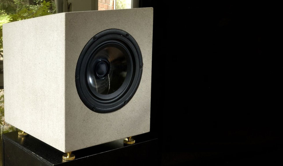AudioMasons High-fidelity Speakers Made of Solid Stone