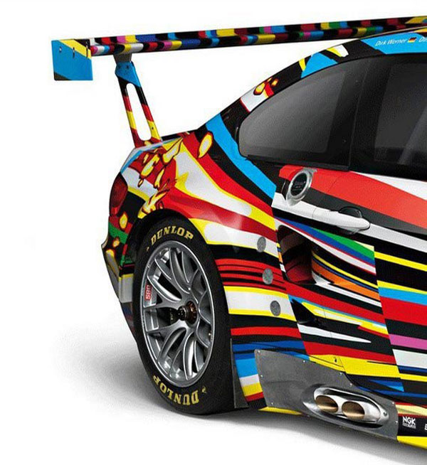 BMW M3 GT2 by Jeff Koons 1:18 Art Car Model