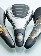 World's most expensive bicycle saddle by Crown Saddle