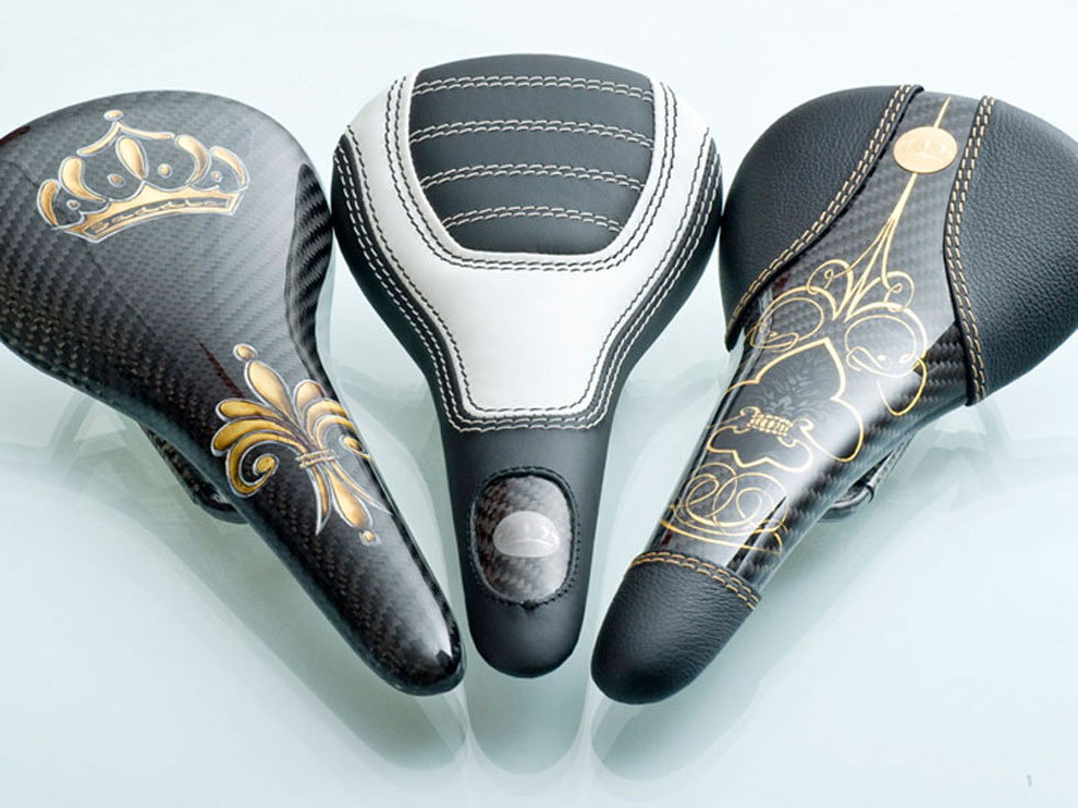 World's Most Expensive Bicycle Saddles by Crown Saddle