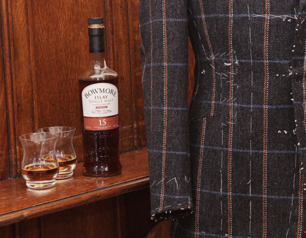 Bowmore Tweed Saville Row Experience