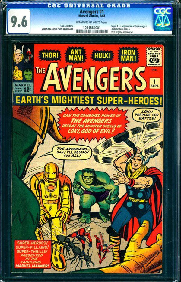CGC 9.6 Grade Copy of The Avengers #1