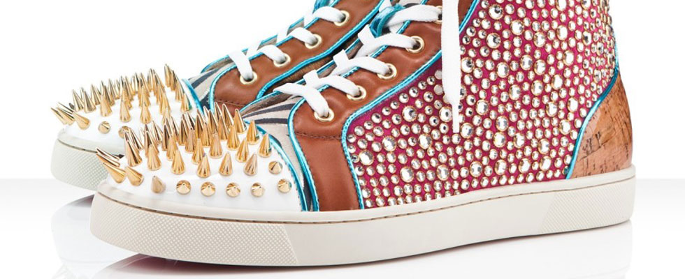 Christian Louboutin`s 2012 Spring/Summer No Limits Men's Flats