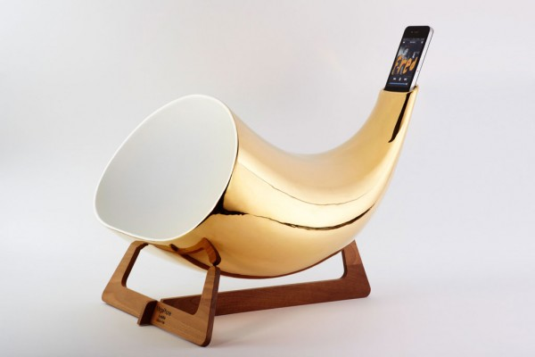 En & Is MegaPhone iPod Amplifier - Gold