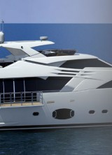 Ferretti's Custom Line 100' Yacht Unveiled at the Fort Lauderdale International Boat Show