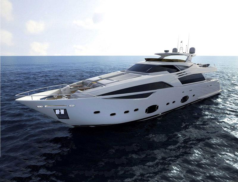 Ferretti Custom Line 100' Yacht. The new Ferretti Custom Line 100 series ...