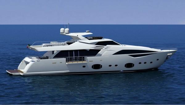 Ferretti Custom Line 100' Yacht