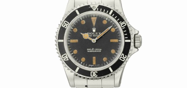 James Bond's Rolex Reference 5513 Submariner