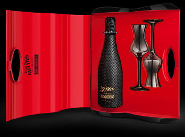 Limited Edition Piper-Heidsieck Champagne by Jean Paul Gaultier