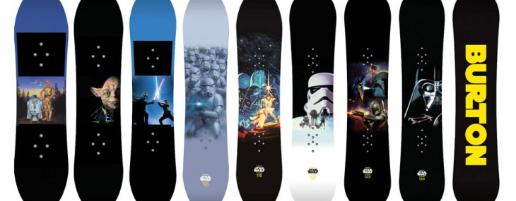 Star Wars Snowboards And Helmet – Limited Edition