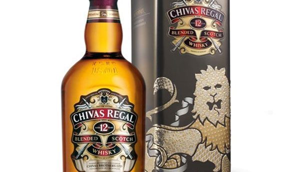 Limited Edition Chivas Regal Gift Tin by Dan Funderburgh