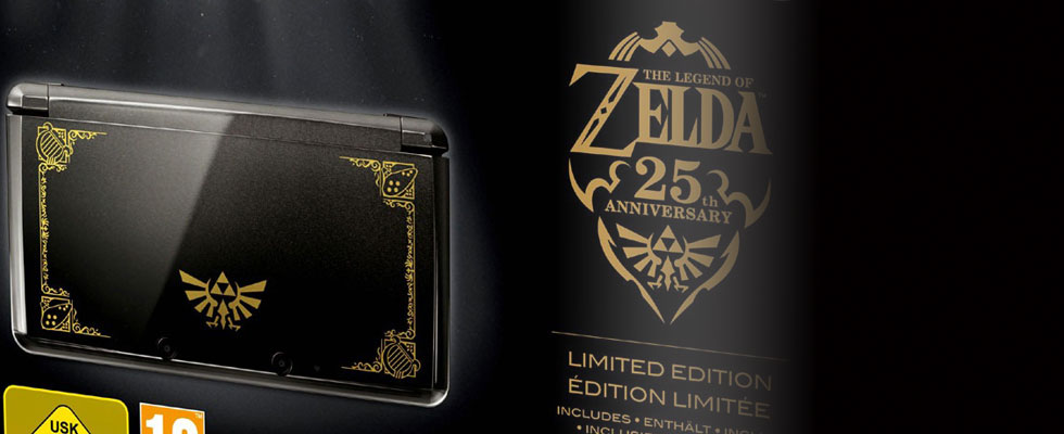 Limited Edition The Legend of Zelda 25th Anniversary Bundle