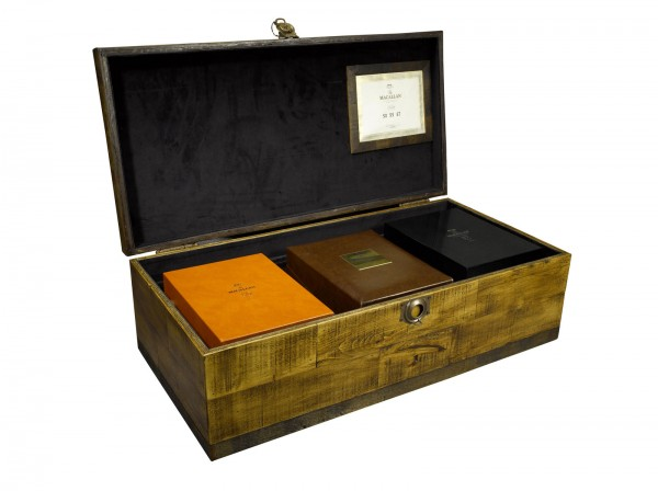 Macallan Master Lalique Collection Chest
