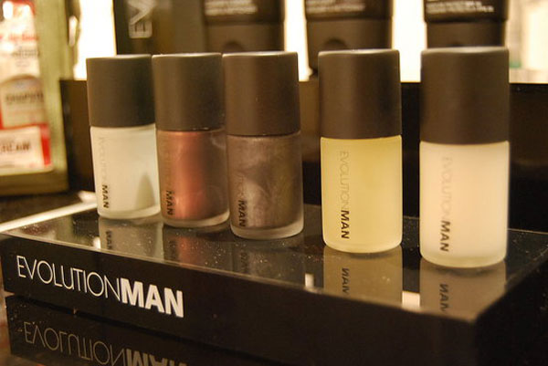 Men's Nail Polish Line by Evolution Man