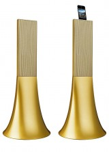Parrot Ancient Gold Zikmu Speakers by Philippe Starck – Limited Edition
