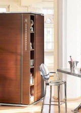 Philippe Starck's Tower Kitchen for Warendorf Elegantly Saving Your Space