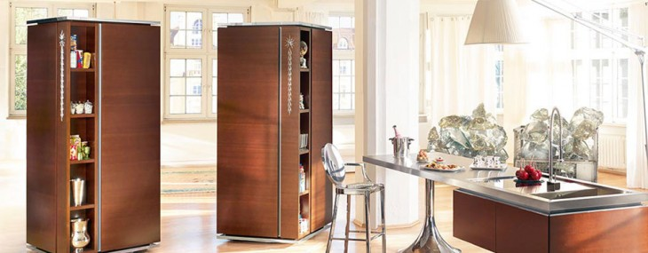 Philippe Starck's Tower Kitchen