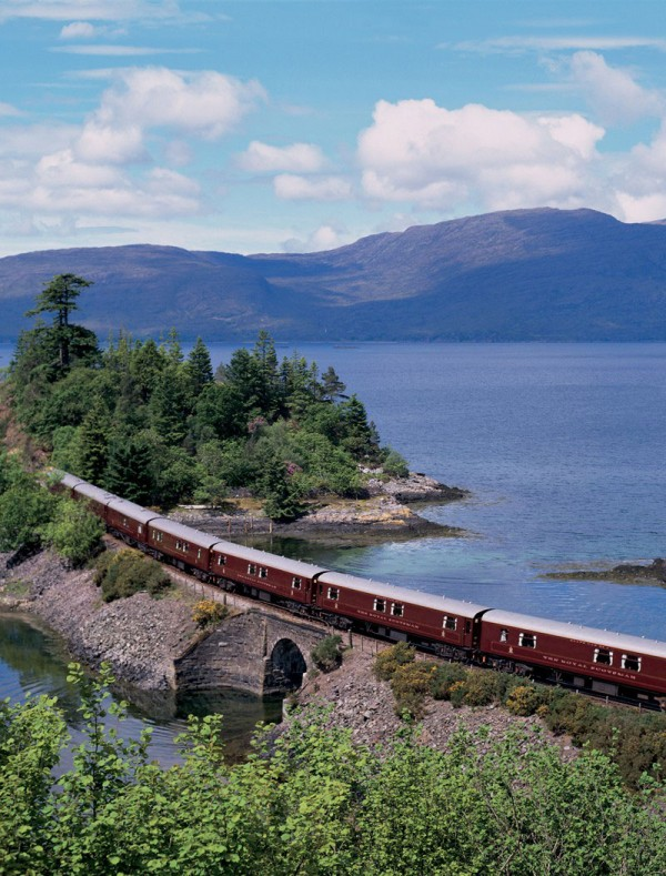 Private Rail Cars - The Royal Scotsman