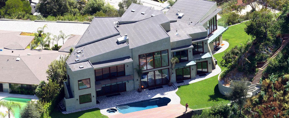 Rihanna's Beverly Hills Home