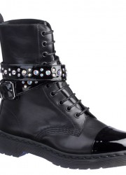 SWAROVSKI_4_10_EYE_STRAP_ANKLE_BOOT_BLACK_ITALIAN_PATENT_GOLDANIL_CALF