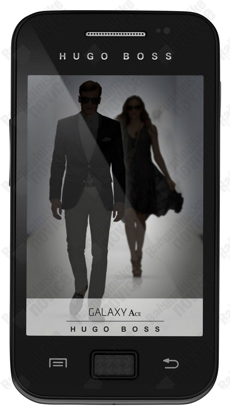 Samsung Galaxy Ace Hugo Boss Smartphone &#8211; Limited Edition