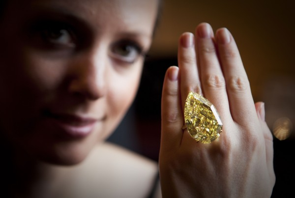 Sun-Drop Diamond - The World's Largest Yellow Diamond